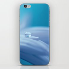 Lonely Droplet Lightblue iPhone & iPod Skin