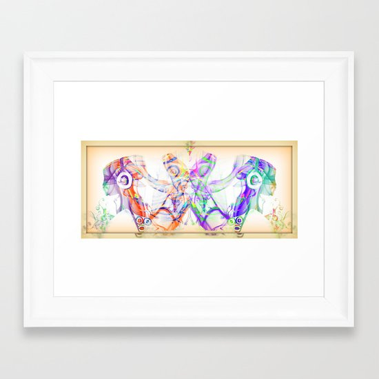 Let the Music Flow Framed Art Print