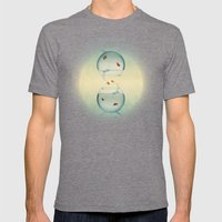 Goldfish Infinity Mens Fitted Tee Tri-Grey SMALL