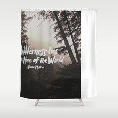 Wilderness Hope x John Muir Shower Curtain