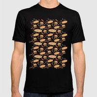 Fast Food Mens Fitted Tee Black SMALL