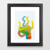 Tentickles Framed Art Print