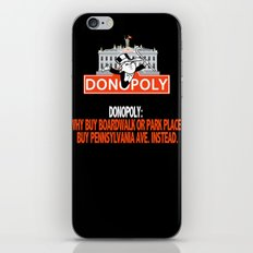 Donopoly: Why buy Park Place or Boardwalk when you can buy Pennsylvania Avenue! iPhone & iPod Skin
