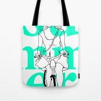 Summer Cycle Tote Bag