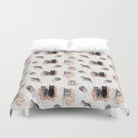 Le Chat Toile De Jouy Duvet Cover