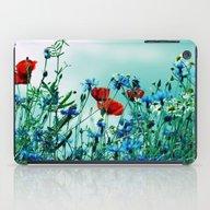 Cornflowers, Poppies And… iPad Case