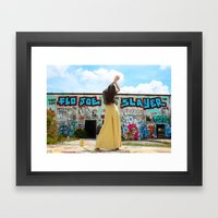 Flo Joe Framed Art Print