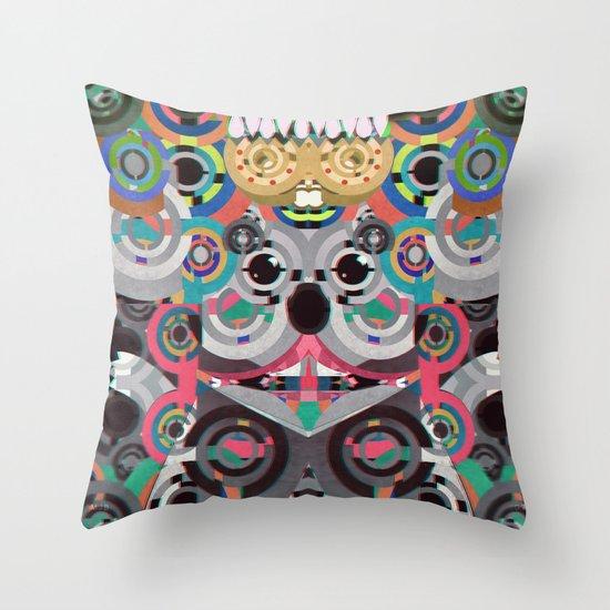 KiNG KoALA Throw Pillow