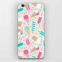 Ice Cream Party iPhone & iPod Skin
