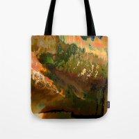 06-04-18 (Mountain Glitc… Tote Bag