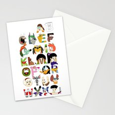 Child of the 70s Alphabet Stationery Cards