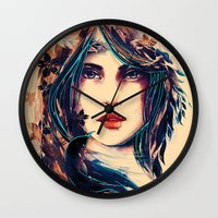SOME DEVIL SOME ANGEL Wall Clock