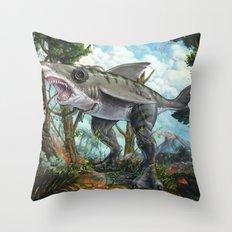 T-Shark Throw Pillow