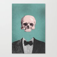 Dapper Dead Canvas Print