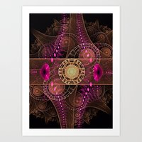Abstract  Fractal 136    Art Print