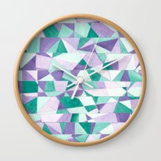 #103. JENNI (Abstract Stained Glass) Wall Clock