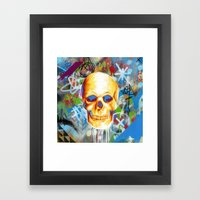 Solarized Framed Art Print