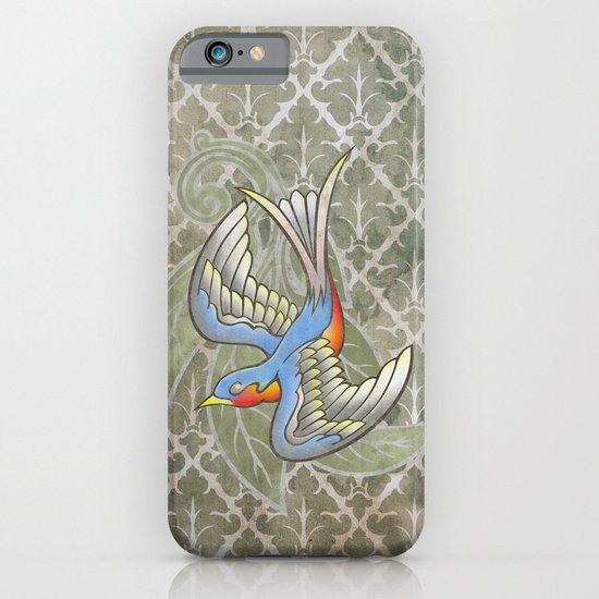 Sparrow tattoo iPhone & iPod Case