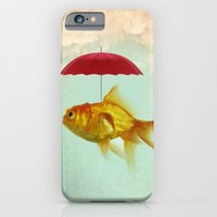 iPhone & iPod Case featuring under cover goldfish 02 by vin zzep