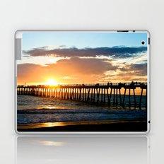 Hermosa Pier (2) Laptop & iPad Skin