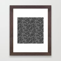 Ab 2 Repeat Framed Art Print