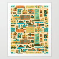 Bay View Art Print