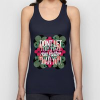 FLOWER TIME Unisex Tank Top