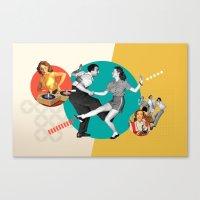 Tempi Moderni / Modern T… Canvas Print
