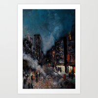 Meatpacking District Art Print