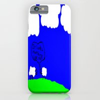 Watching The Clouds Go B… iPhone 6 Slim Case