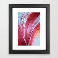 Acrylic Abstract On Canv… Framed Art Print