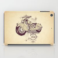 1936 indian iPad Case