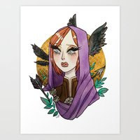 Leliana Art Print