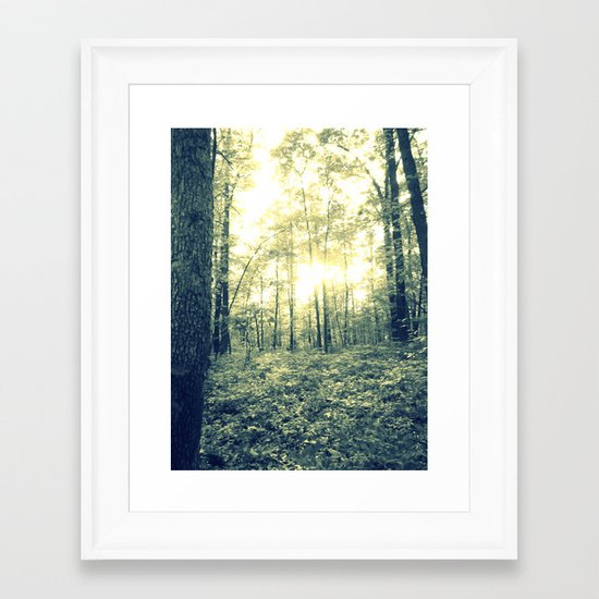 Where Magic Grows Framed Art Print