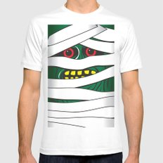 Mummy SMALL White Mens Fitted Tee