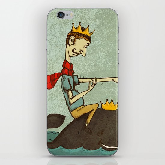 The King of Nothing iPhone & iPod Skin