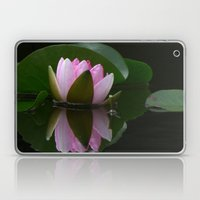 Reflecting Water Lily Laptop & iPad Skin