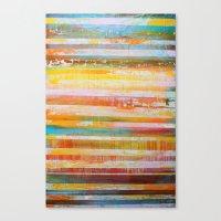 Summer Layers Canvas Print
