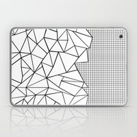 Abstraction Outline Grid… Laptop & iPad Skin