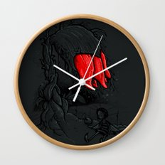 Void Spirit Wall Clock