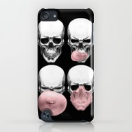 Skulls Chewing Bubblegum iPod touch Slim Case