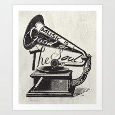 Good For The Soul Art Print