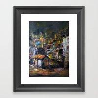 Fikirtepe-İstanbul Framed Art Print