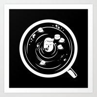 Hot Chocolate Time! Art Print