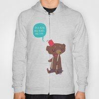 I am a bear now. Bears are cool. Hoody
