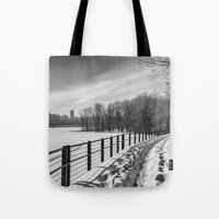 Arriving To Ottawa Tote Bag