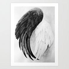 On Wings Art Print
