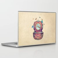 french Laptop & iPad Skins featuring Inner Space by Terry Fan