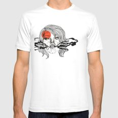 O-Face Mens Fitted Tee SMALL White
