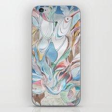 Spring blues iPhone & iPod Skin